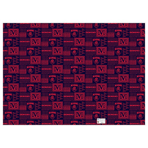 Melbourne Demons Official AFL Wrapping Paper Giftwrap
