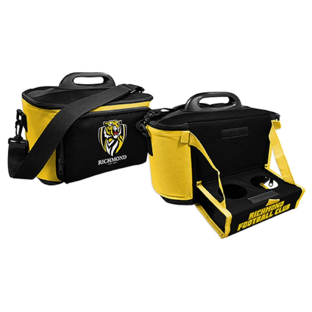 Richmond Tigers Insulated Cooler Bag with Tray Official AFL Work Picnic