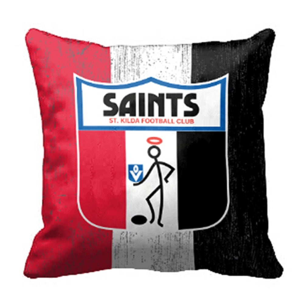 St Kilda Saints Official AFL 1st 18 Cushion Indoor Outdoor Canvas