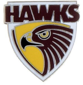 Hawthorn Hawks Official AFL Team Logo Lapel Tie Pin