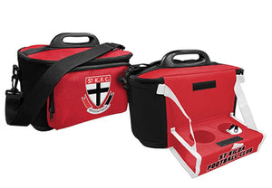 St Kilda Saints Insulated Cooler Bag with Tray Official AFL Work Picnic