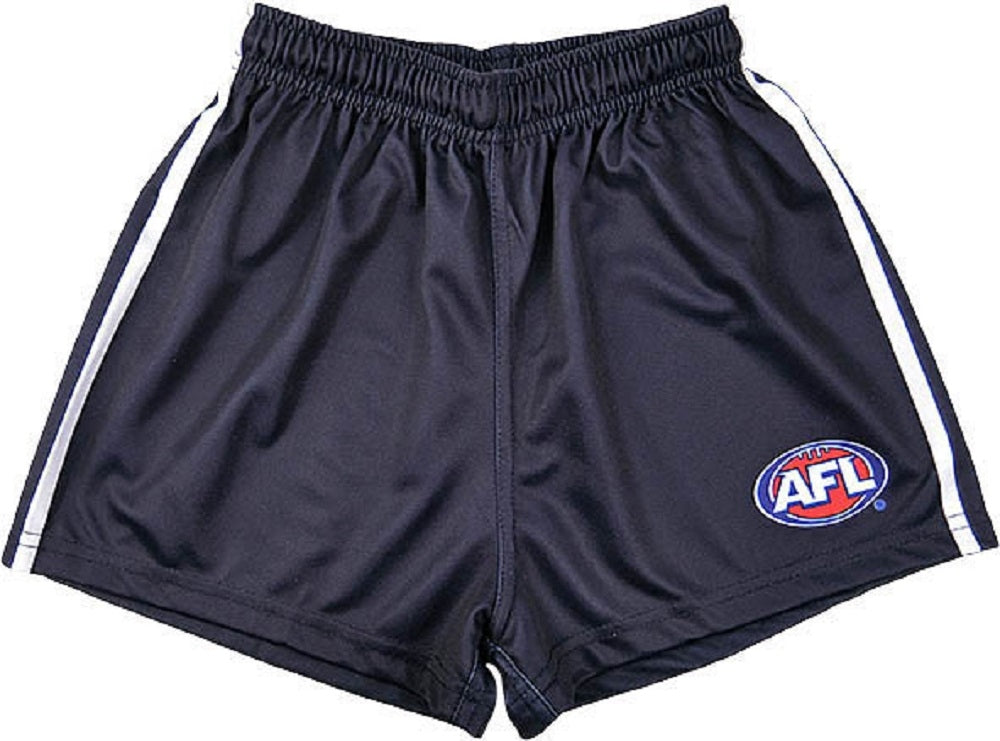 Geelong Cats Official AFL Replica Youths Football Shorts