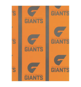 Greater Western Sydney Giants GWS Team Logo Official AFL Wrapping