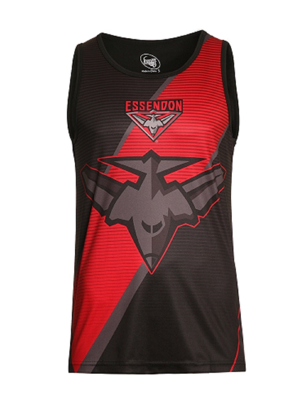 Essendon Bombers Official AFL Youth Sublimated Singlet Polyester Summer AF6947