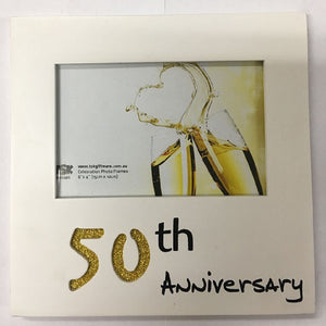 50 Fifty Year Anniversary Photo Picture Frame 6 x 4 Photos