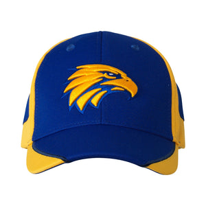West Coast Eagles Official AFL Essentials Cap 58cm Adjustable AF8407
