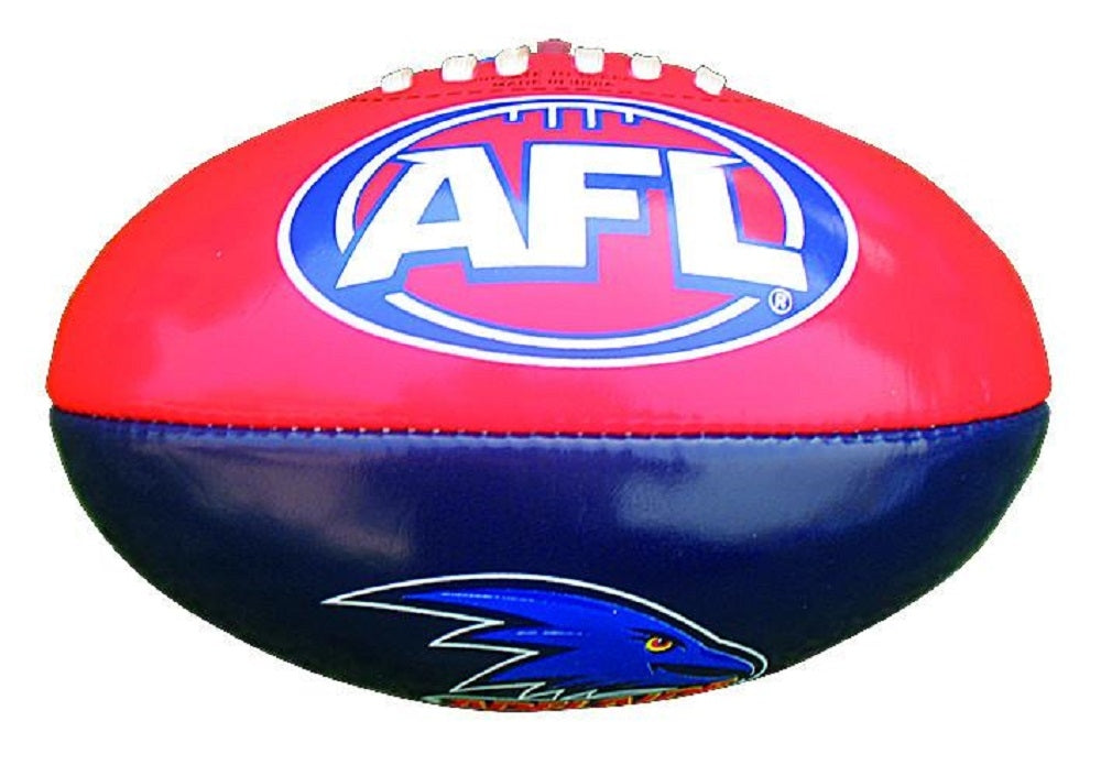 Adelaide Crows Official AFL PVC 20cm Small Football By Burley