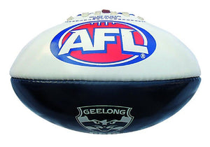 Geelong Cats Official AFL PVC 20cm Small Football By Burley
