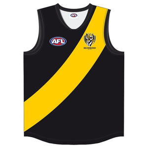 Richmond Tigers Official AFL Adult Training Guernsey Footy Jumper