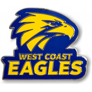 West Coast Eagles WCE Official AFL Team Logo Lapel Tie Pin