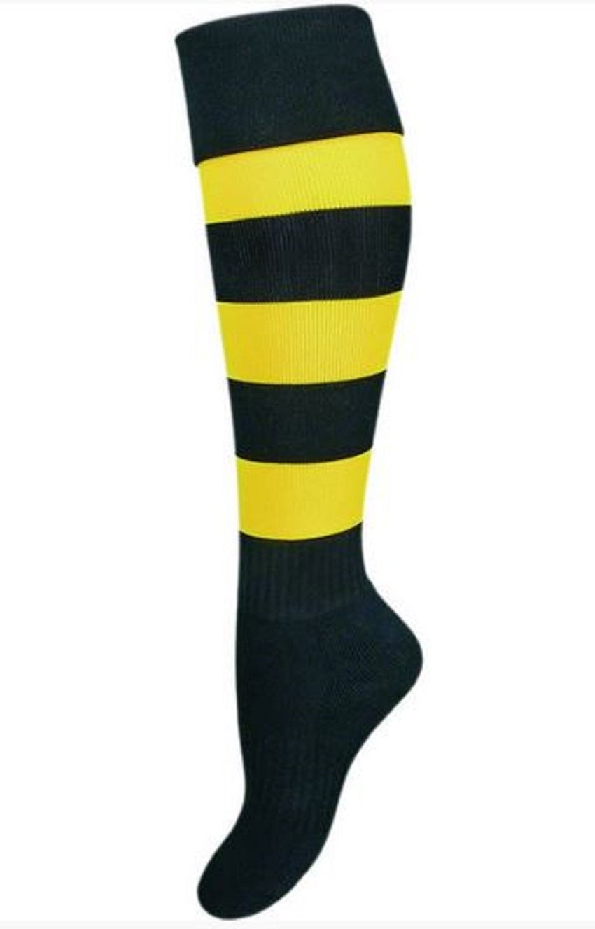 Richmond Tigers Official AFL Elite Football Footy Socks Mens 7-11