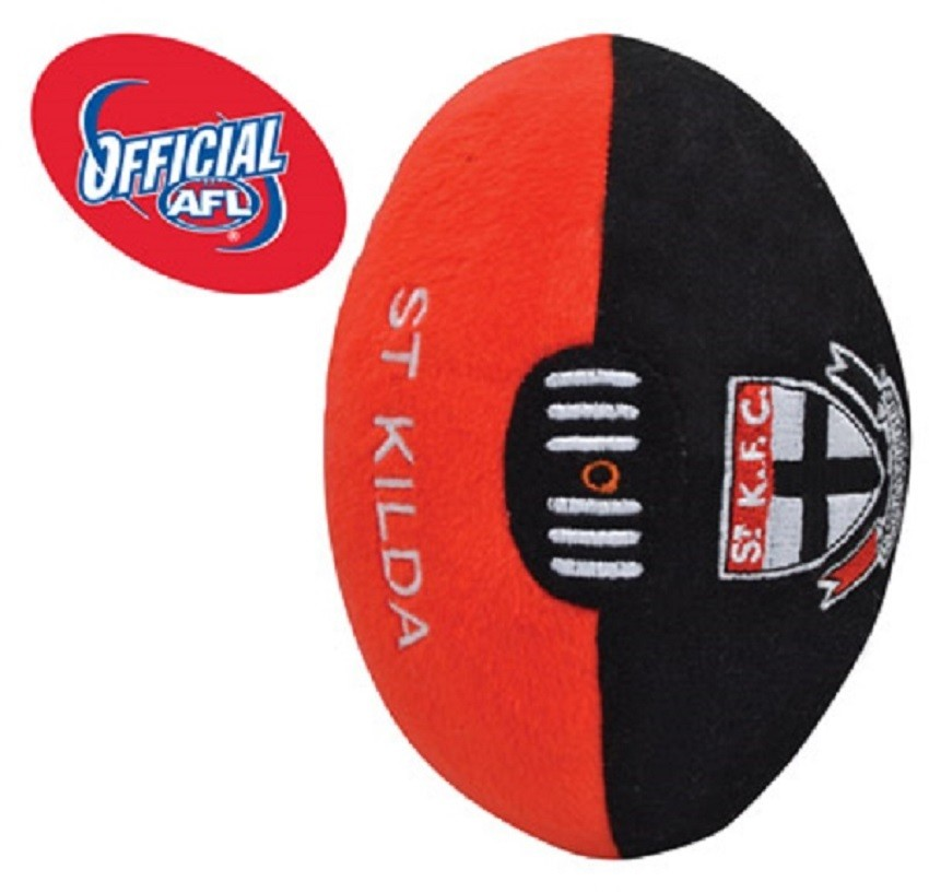 St Kilda Saints  Official AFL Plush Soft Baby Indoor Football