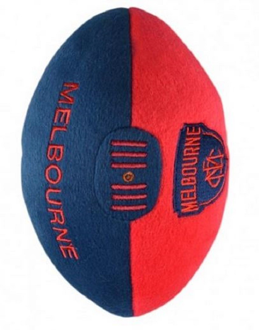 Melbourne Demons  Official AFL Plush Soft Baby Indoor Football