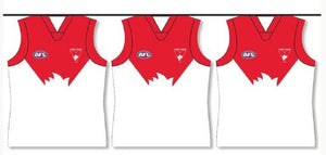 Sydney Swans 5 Metres Official AFL Team Party Bunting