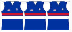 Western Bulldogs 5 Metres Official AFL Team Party Bunting