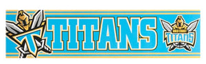 Gold Coast Titans Official NRL Team Logo Bumper Sticker