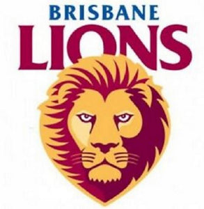 Brisbane Lions Logo Static Cling Car Reverse Decal Sticker Official AFL