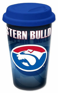 Western Bulldogs Official AFL Insulated Ceramic Travel Mug