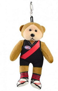 Essendon Bombers Official AFL Keyclip Beanie Kid Bag Tag Collectable