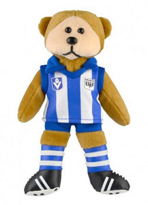 North Melbourne Kangaroos Heritage Player Bear Official AFL Beanie Kid 30cm