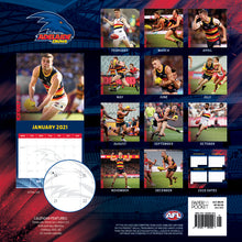 Load image into Gallery viewer, Adelaide Crows 16 month Calendar 2020-2021 Official AFL