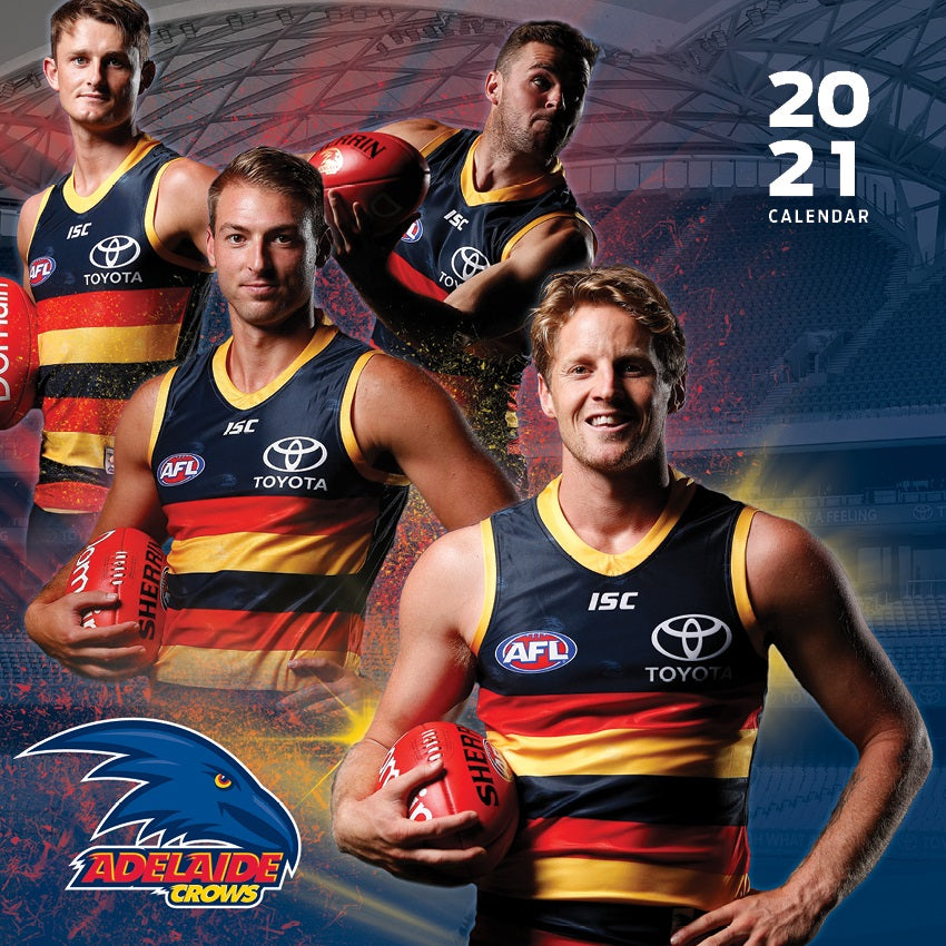 Adelaide Crows 16 month Calendar 2020-2021 Official AFL