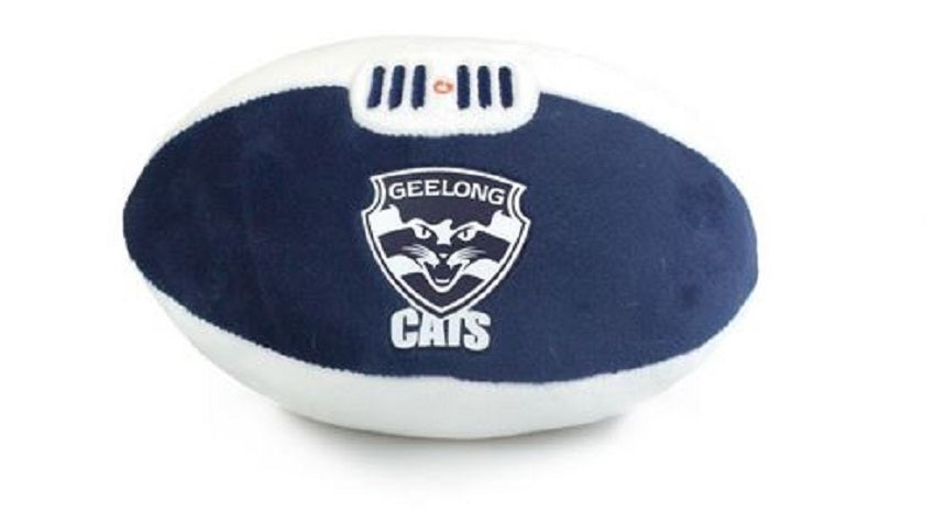 Geelong Cats  Official AFL Plush Soft Baby Indoor Football