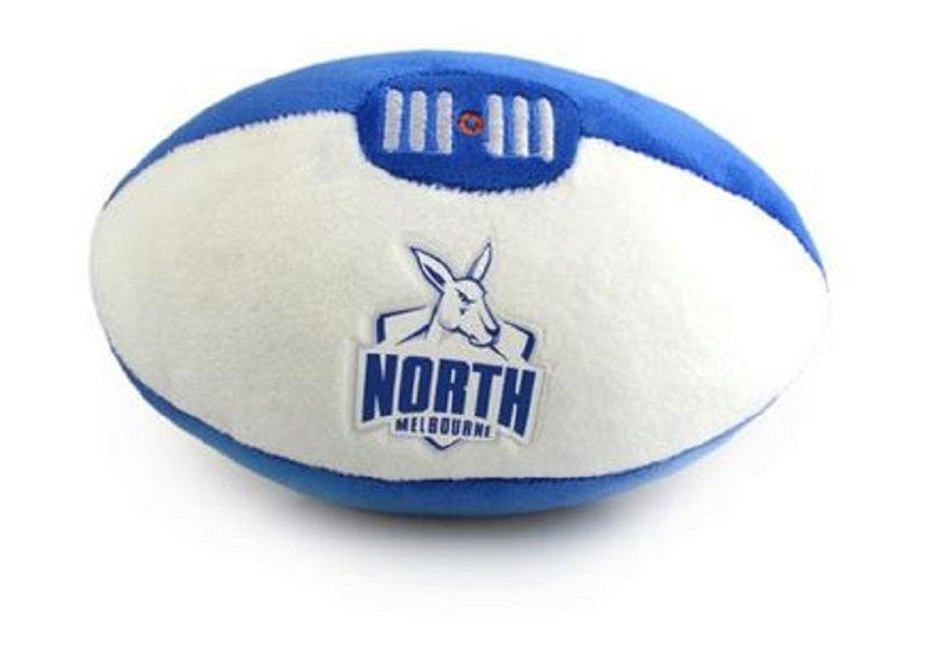 North Melbourne Kangaroos Official AFL Plush Soft Baby Indoor Football