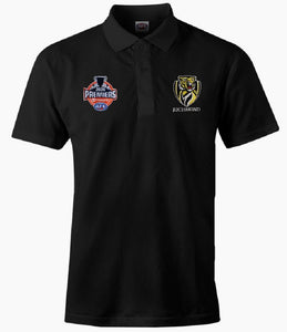 Richmond Tigers Official AFL Mens 2020 P2 Premiership Polo Shirt