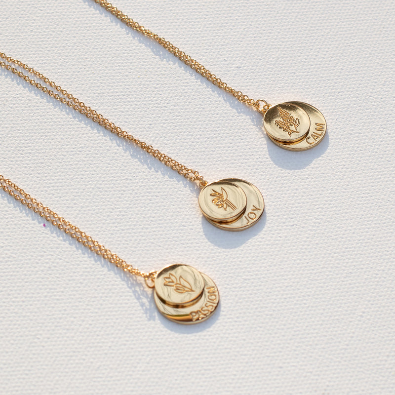 Gold Calm Necklace