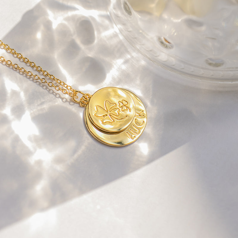 Gold Luck Necklace