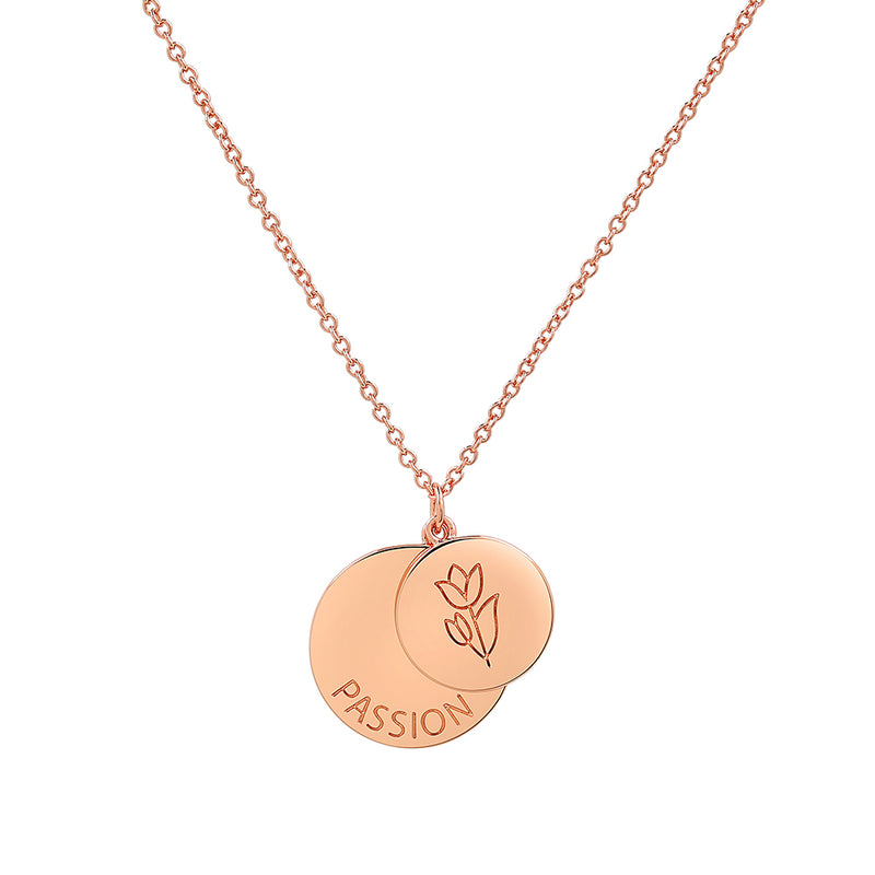 Rose Gold Passion Necklace