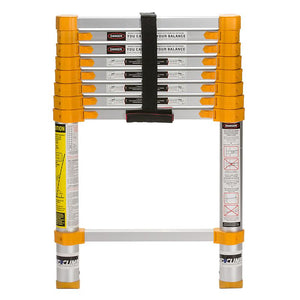 Xtend+Climb  8.5 ft. H x 18 in. W Aluminum  Extension Ladder  Type 1