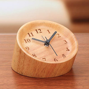 Wood Alarm Clock