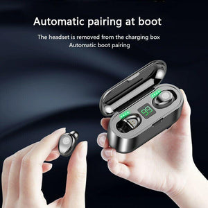 Bluetooth 5.0 Headset TWS Wireless Earphones Mini Earbuds Stereo