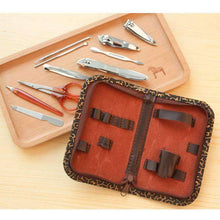 Load image into Gallery viewer, 10 PCS Multi-function Stainless Steel Manicure Set Personal Care Tool
