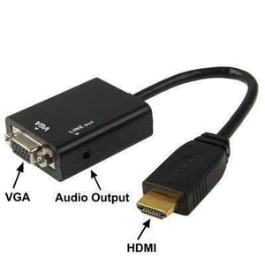 AMZER®  Full HD 1080P HDMI to VGA + Audio Output Cable for Computer,