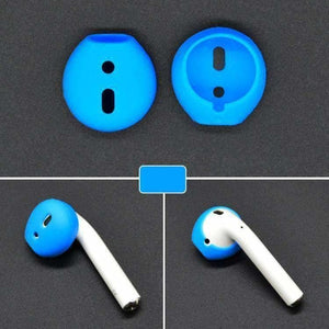 AMZER 2 PCS Wireless Bluetooth Earphone Silicone Ear Caps Earpads for
