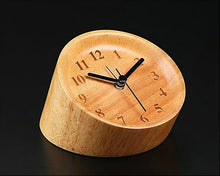 Load image into Gallery viewer, Wood Alarm Clock