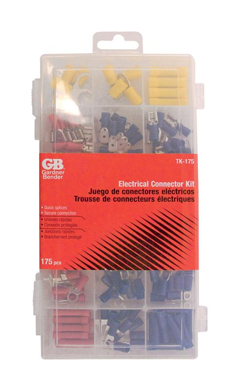 Gardner Bender  22-10 Ga. Insulated Wire  Terminal and Connector Kit