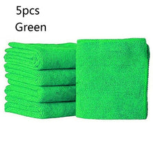 Load image into Gallery viewer, 5Pcs Cloths Cleaning Duster Microfiber Car