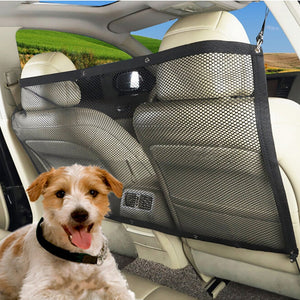 Car Auto Back Guard Seat Dog Children Pet Mesh
