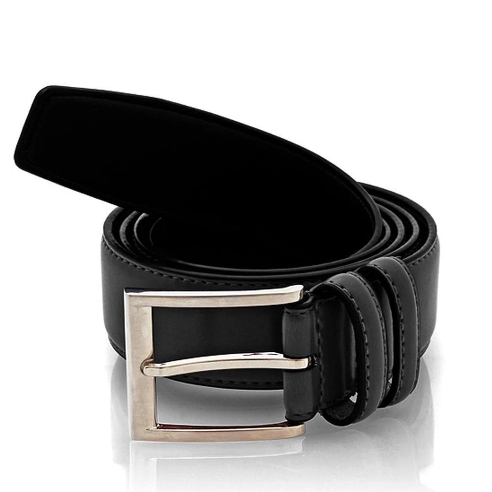 Men's Genuine Leather Slim Belt