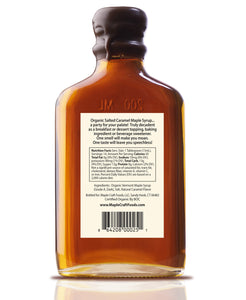 Salted Caramel Maple Craft Syrup (Organic)