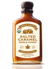 Load image into Gallery viewer, Salted Caramel Maple Craft Syrup (Organic)