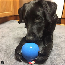 Load image into Gallery viewer, USA-K9 Cherry Bomb Durable Rubber Chew Toy, Treat Dispenser, Reward