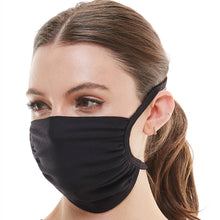 Load image into Gallery viewer, Fabric face mask Tie up washable reusable face mask