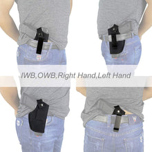 Load image into Gallery viewer, Concealed Carry Holsters Belt Metal Clip IWB OWB Holster Gun Bag
