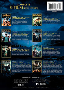 Harry Potter Collezione Completa (8 Dvd) Series
