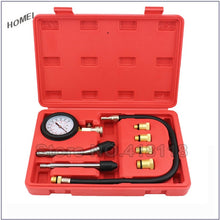 Load image into Gallery viewer, Professional AUTO TOOLS Petrol Gasoline Engine Cylinder Compression Tester Kit Cylinder Tester With M10 M12 M14 M16 M18